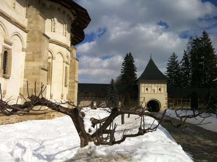 Putna Monastery// Suceava// winter