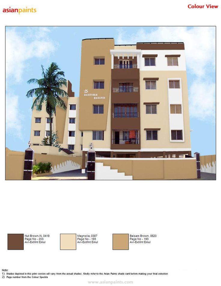 13 best monochromatic combinations images on pinterest - Apartment exterior colour combination ...