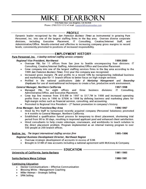resume template idea - Sample Actuary Resume