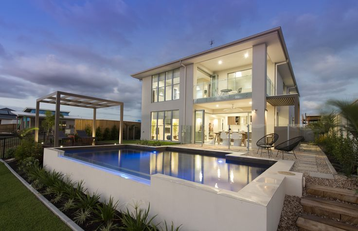 The Manhattan is an entertainers dream, we bring the outdoors in with beautiful bi-fold doors opening up to the gorgeous wet edge pool. With its sleek, contemporary lines and wide open spaces, the Manhattan will impress even the most discerning.