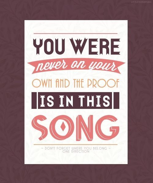 One Direction - Don't Forget Where You Belong (Midnight ...