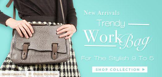 Woooow ladies, ada koleksi tas nih di PinkEmma. Cocok untuk dibawa ngantor lho.  Shopping yuk> http://Dyah-Setyo.pinkemmaku.com