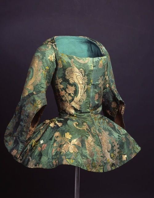 Jacket ca. 1730-40 From the Museo del Traje