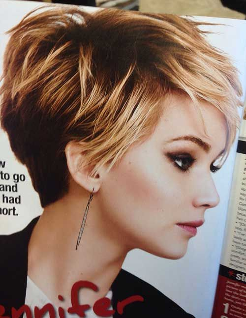 Thick Sassy Pixie Cut #WedgeHairstylesStacked