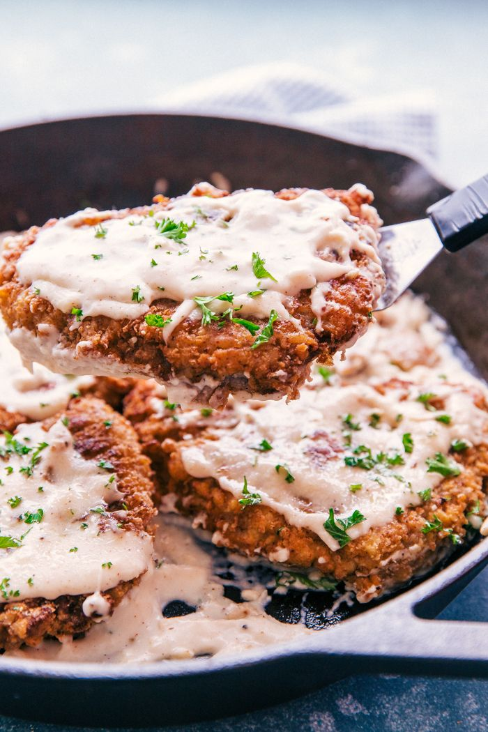 It's time to set your tastebuds free with The Best Chicken Fried Steak and Gravy you will encounter.  Fried to a crisp perfection and doused in warm creamy gravy over mashed potatoes, this is comfort food at its best.