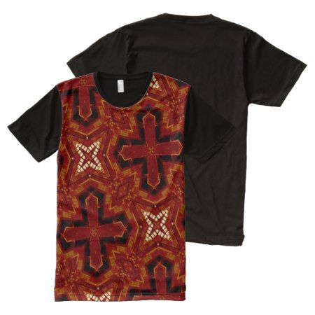 red cool trendy pattern All-Over-Print T-Shirt - click to get yours right now!