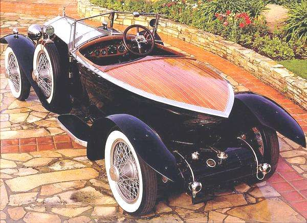 1924 Rolls Royce Silver Ghost Boat Tail Speedster.  I would drive this all round town and then some