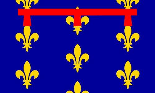 Flag of the Kingdom of Naples - Kingdom of Naples - circa 1202...