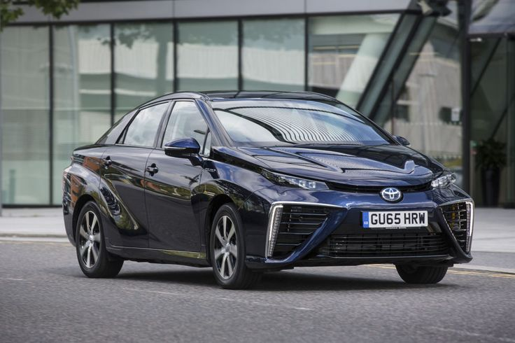 2016 Toyota Mirai review: A futuristic, super-smooth hydrogen fuel cell car   Ars Technica UK