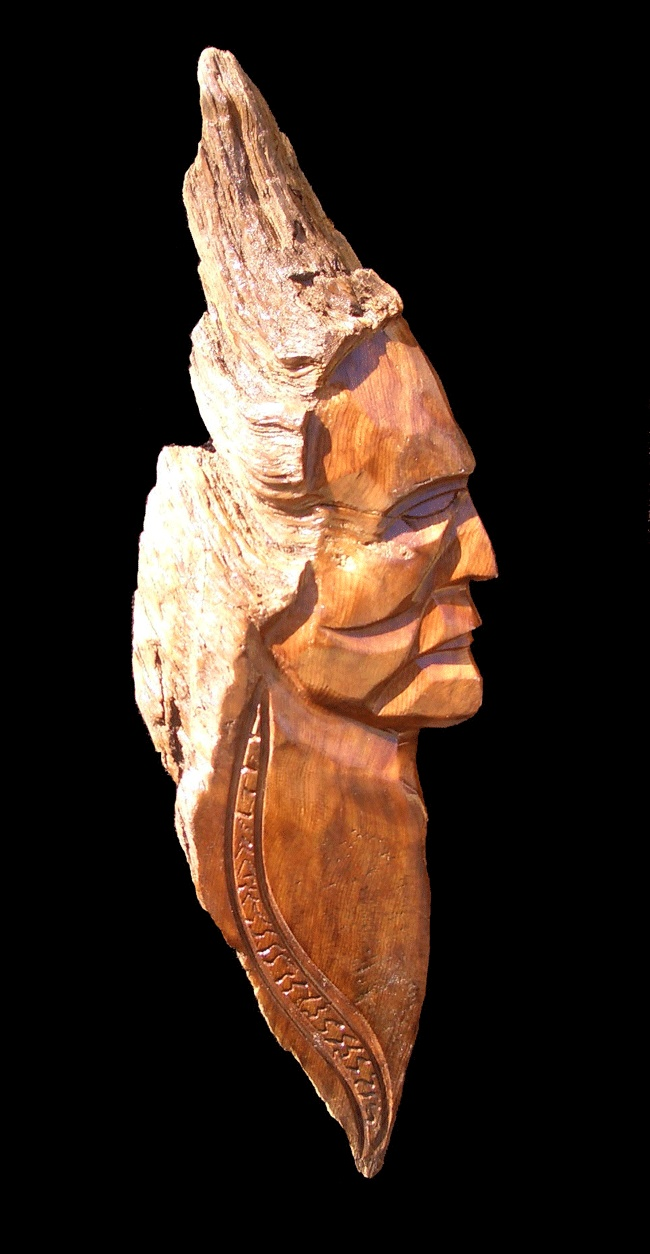 Redwood sculpture by scott luchansky crafty things