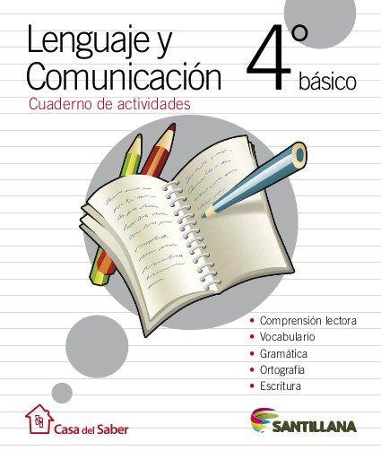 Cuaderno Actividades Lenguaje 4º