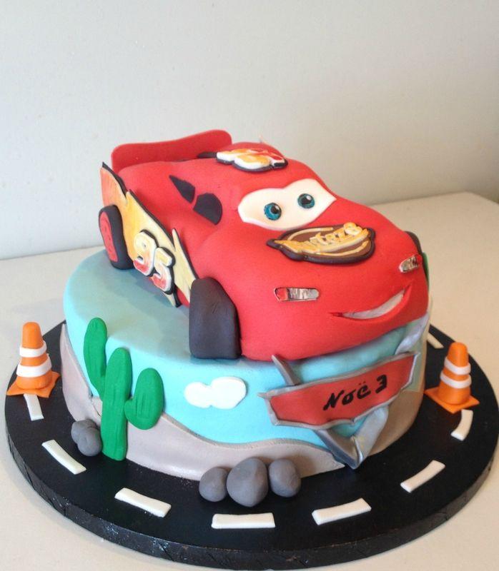Gâteau Flash Mcqueen de Noé