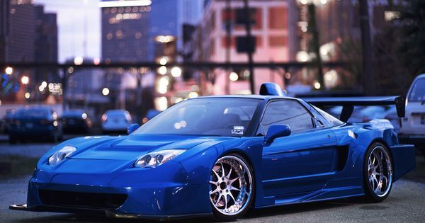 Wide Acura NSX. This car is sick #Stancenation #Acura #Rvinyl   See more about Cars.