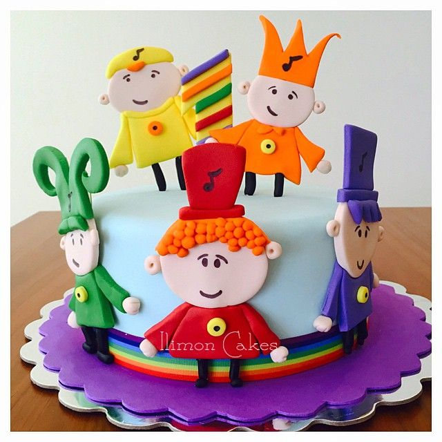 Notekins  #dulce #pastel #cake #torta #bolo #babyfirsttv #fullcolors #sugarart…