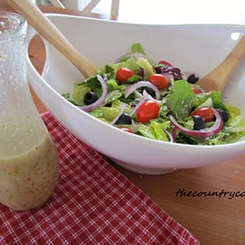 Olive Garden Salad Dressing   Has anyone ever actually made this?????    I did and it was nasty!!    Maybe I'm crazy!