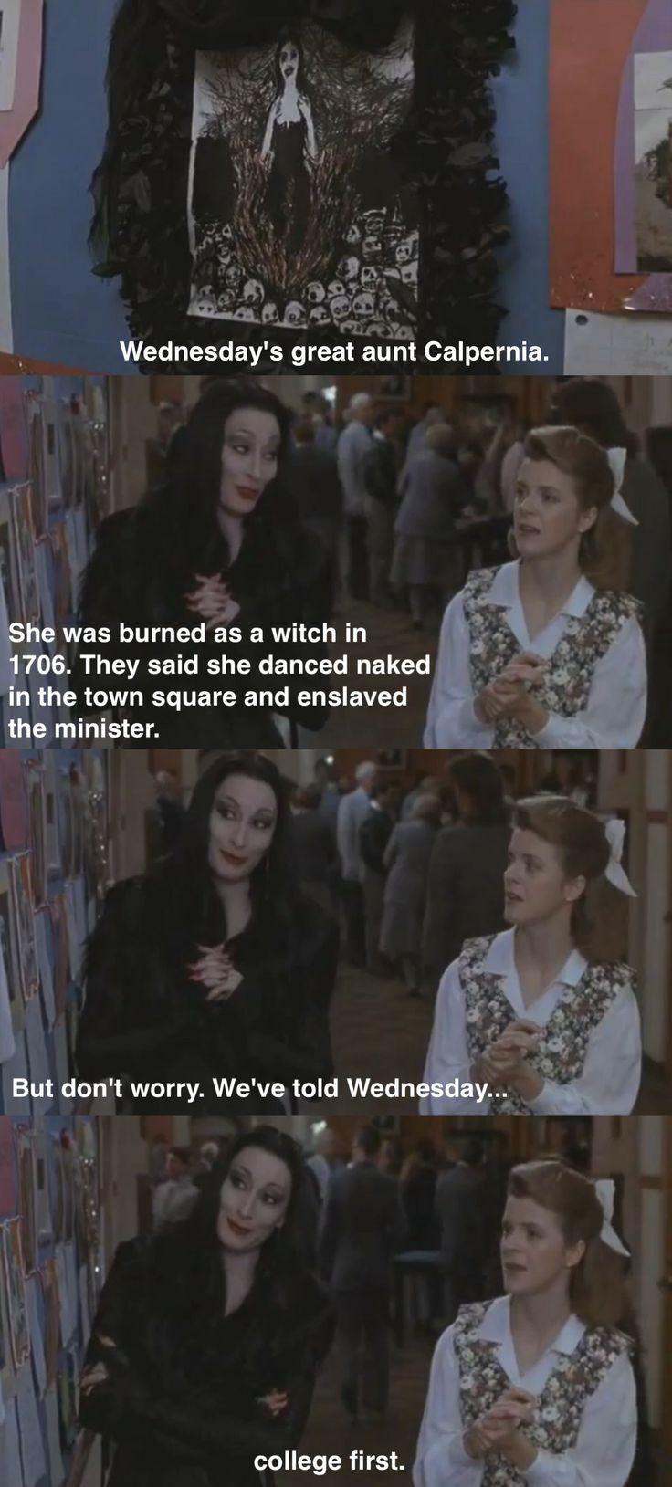 <3 Addams Family