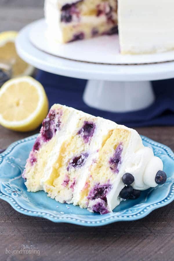 Blueberry Lemon Mascarpone Cake Recipe Backen Cake Mascarpone