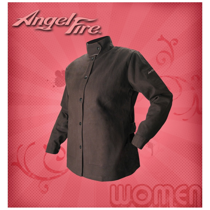 Women's Welding Jacket - AngelFire - Only $25.99 - April is National Welding Month