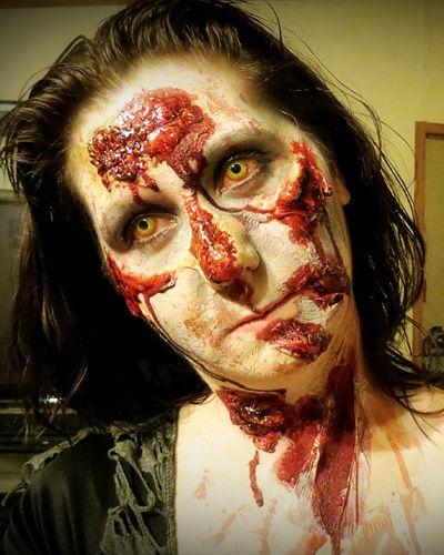 The Walking Dead - Zombie Make-Up Tips for Halloween: Inside The Walking Dead – AMC