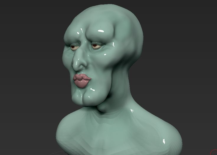 Handsome Squidward by arswiss