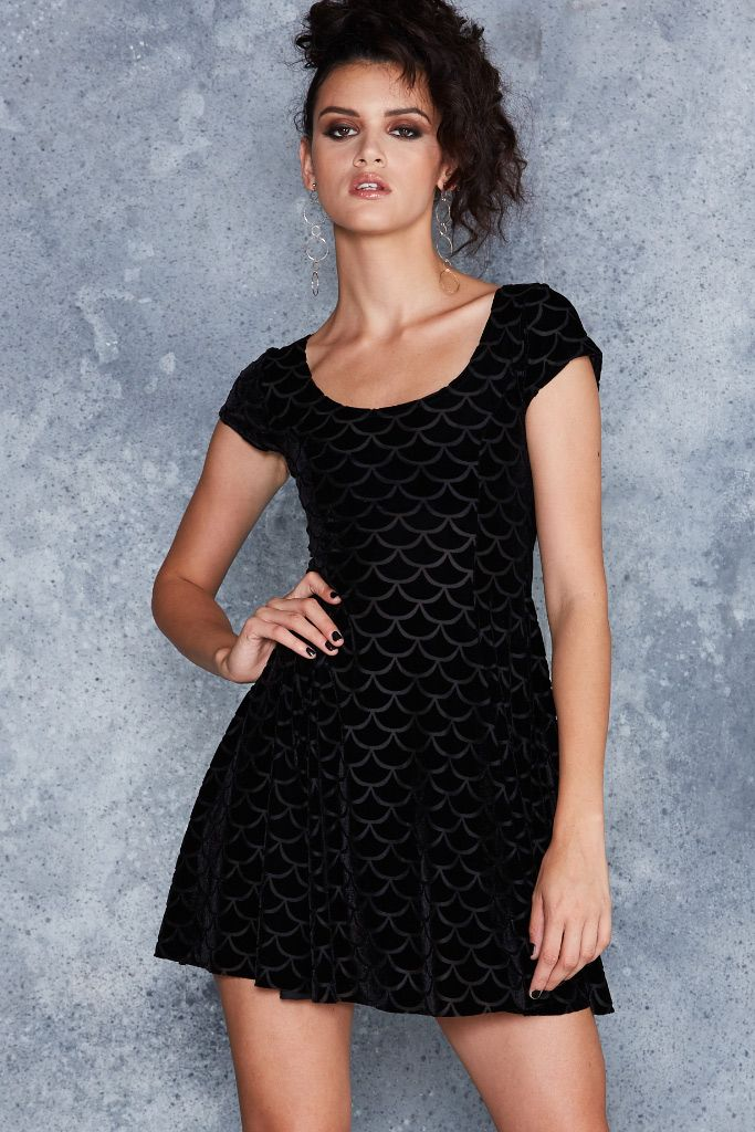 Black milk sweater dress
