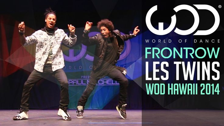 Les Twins | FRONTROW | World of Dance 2014 #WODHI.  I'm still watchin this video but Les Twins is usually pretty entertaining.  This is...jus my style...lol.