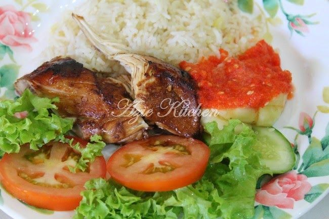 Azie Kitchen: Nasi Ayam Cik Su Yang Mudah Dan Sedap