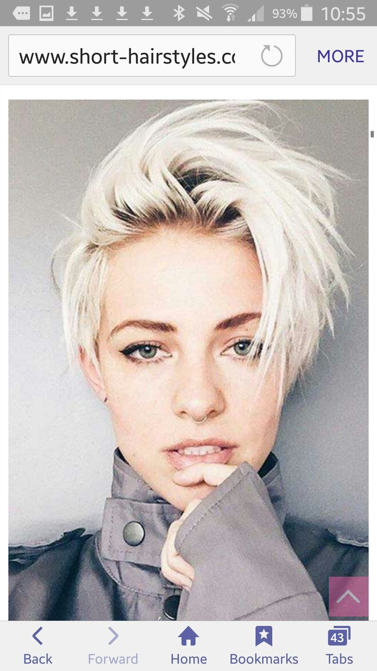 Best 25 Short Platinum Hair Ideas On Pinterest Short