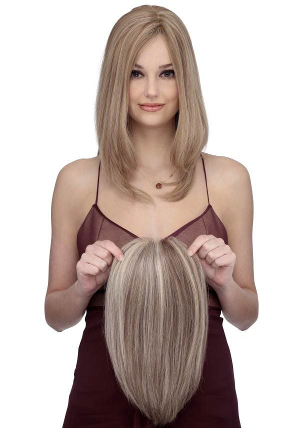 HOW TO BUY A HAIR TOPPER FOR WOMEN WITH THINNING HAIR