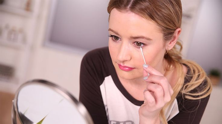 Stop! You're Removing Your Eye Makeup All Wrong: If you wake up in the morning and still have rims under your eyes (after scrubbing your face the night before) or find that your eyelashes fall out every time you take off stubborn mascara, then you're probably removing your eye makeup wrong.