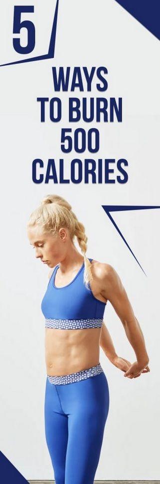 5 Ways to Burn 500 Calories