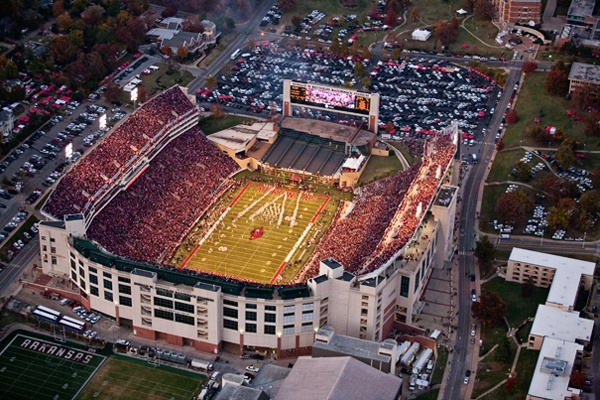 Razorback Stadium: Experience Gameday in Fayetteville, Arkansas