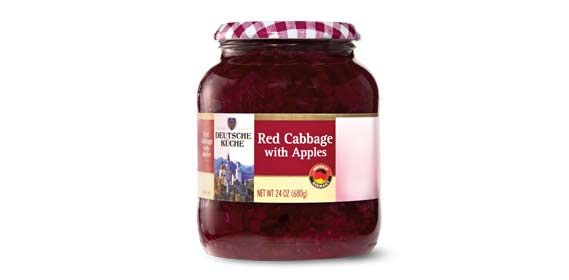 Deutsche Küche Red Cabbage With Apples at Aldi