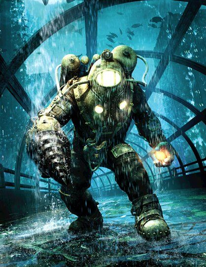 bioshock 2 subject delta - Google Search