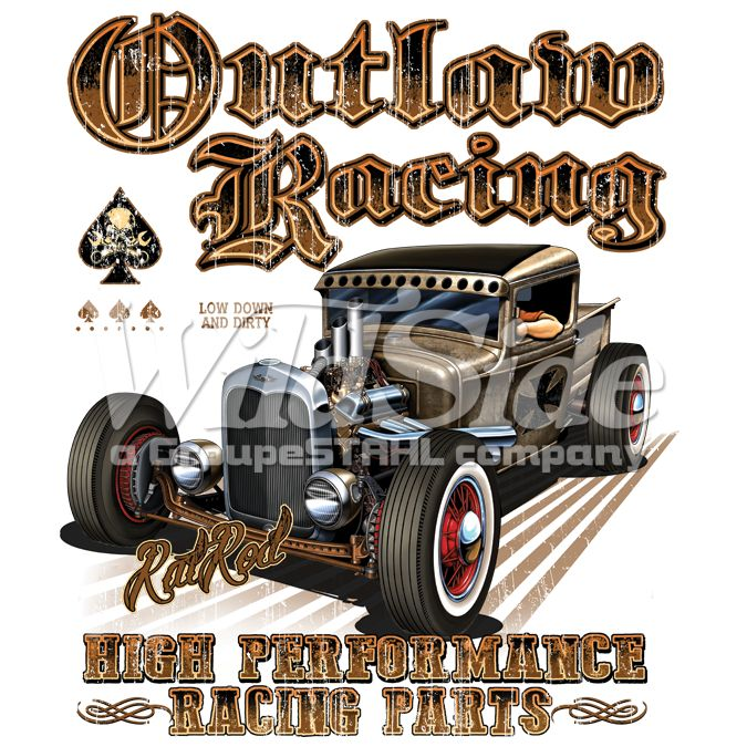 OUTLAW RACING RAT ROD HIGH PERFORMANCE RACING PARTS | The Wild Side