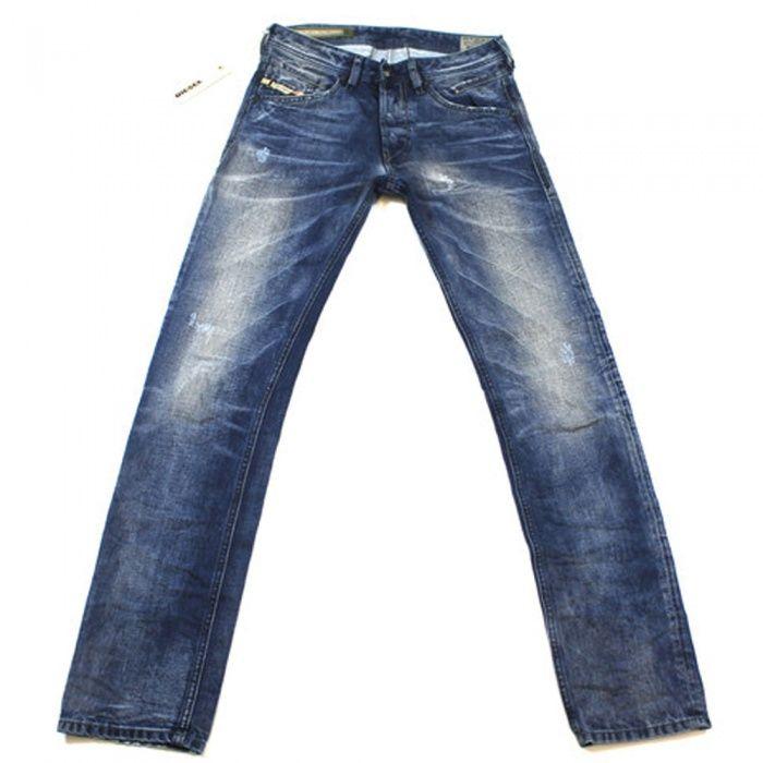 Diesel Belther 0816J Regular Slim Jeans #diesel #sale #offers #designermanuk #belther #denim #fashion