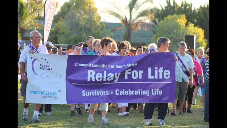 CANSA Relay For Life Breederivier Opening Ceremony 2013