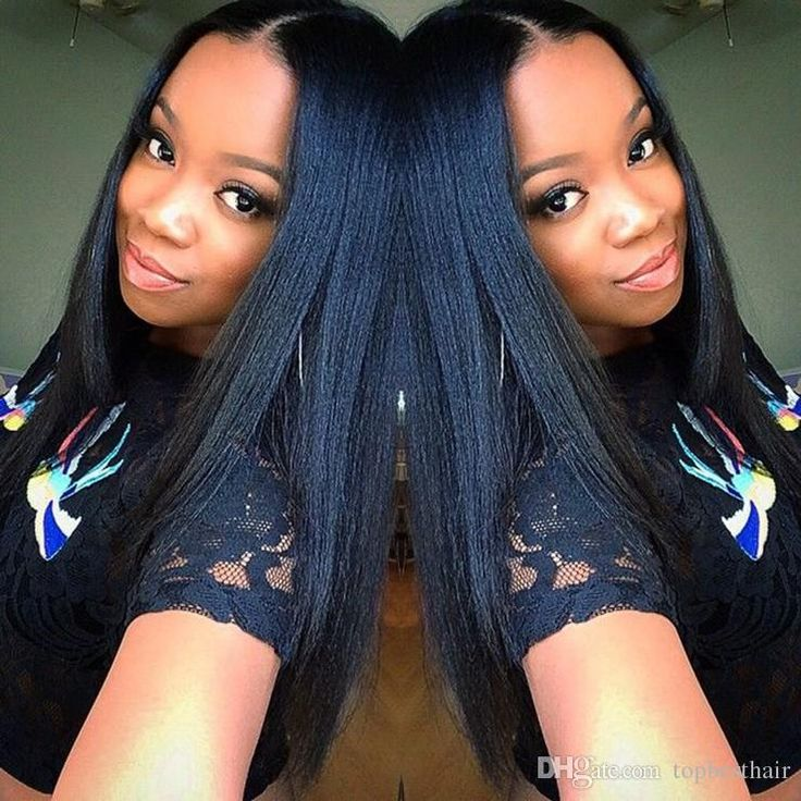 Hot Selling 7a Yaki Straight Brazilian Lace Front Wigs Virgin Human Hair Natural Color Full Lace Wigs With Bleached Knots For Black Women Virgin Human Hair Wigs Buy Wig From Topbesthair, $46.84| Dhgate.Com