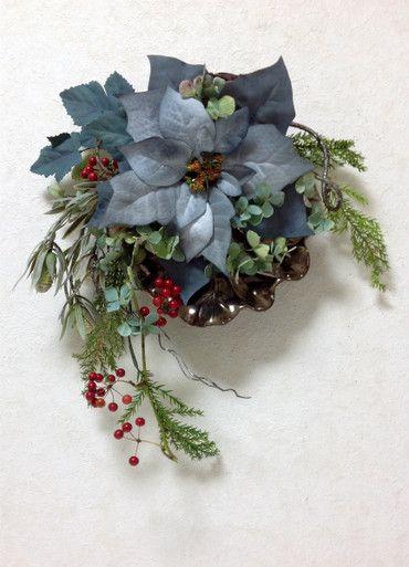 ■クリスマスのドア飾り&アレンジメント