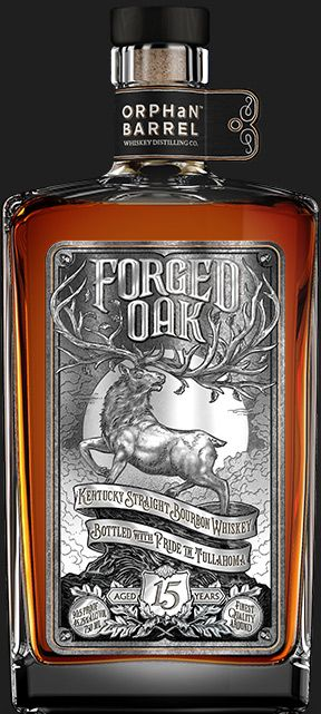 Forged Oak Kentucky Straight Bourbon Whiskey - Orphan Barrel #whiskey #bourbon