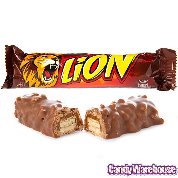 Nestle Lion Bar - Discovered these amazing things in Spain in 1989