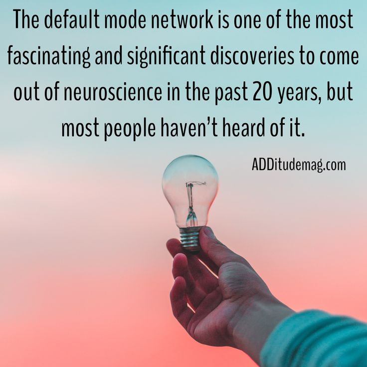 Why your brain is always trying to pull you away from the task at hand? The default mode network is draining valuable energy from more active regions.