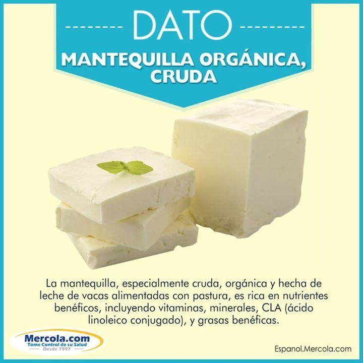 La MEJOR mantequilla es la mantequilla cruda proveniente de vacas criadas orgánicamente.
