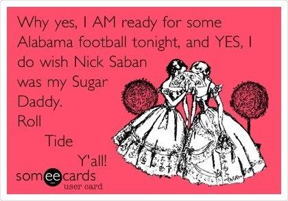 Alabama football - @Amanda Snelson Snelson Duren Connally @Brandy Waterfall Waterfall Barnett Whorton