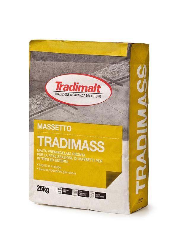 TRADIMASS - Intonaco isolante malte intonaci edilizia premiscelati cementizi