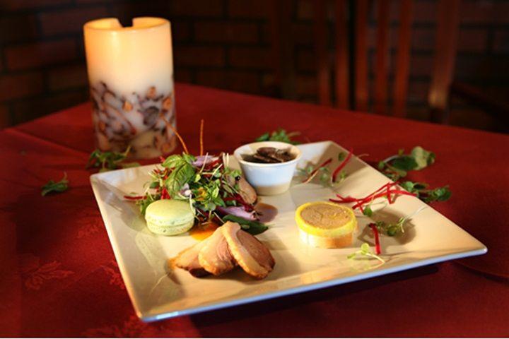 Souper gastronomique au Manoir du lac William tourismeregionthetford.com #gastronomie #manoir
