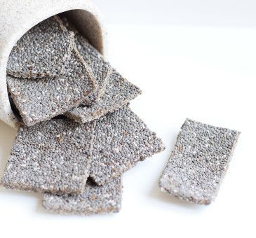 Crackers crudisti di Chia e Anice  #Crackers #semidichia #semi #seeds #chia #fruit #fruttaebacche