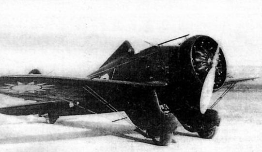 """british-eevee: """"P-26 Peashooter in service with the Chinese Air"""