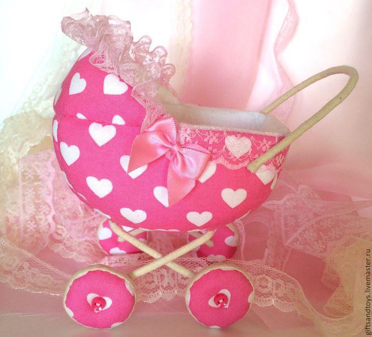 Коляска для пупсика - коляска для кукол,колясочка,игрушка ручной работы