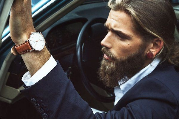 The Hottest Male Model In The World Puts Every Hipster's Beard To Shame (Photos)  Dear Lord...yes please!